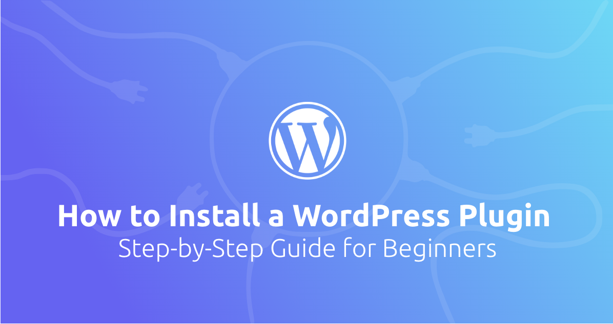 WP plugin installation banner