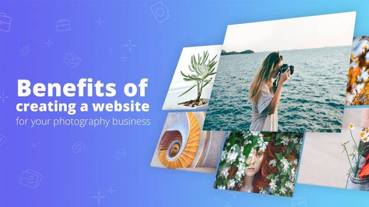 WP photography website banner