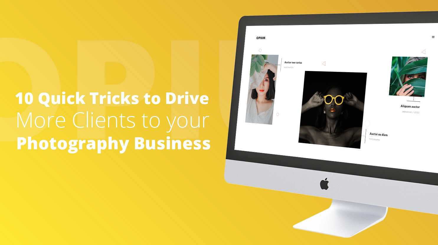 10 tricks to drive more clients to your photography business