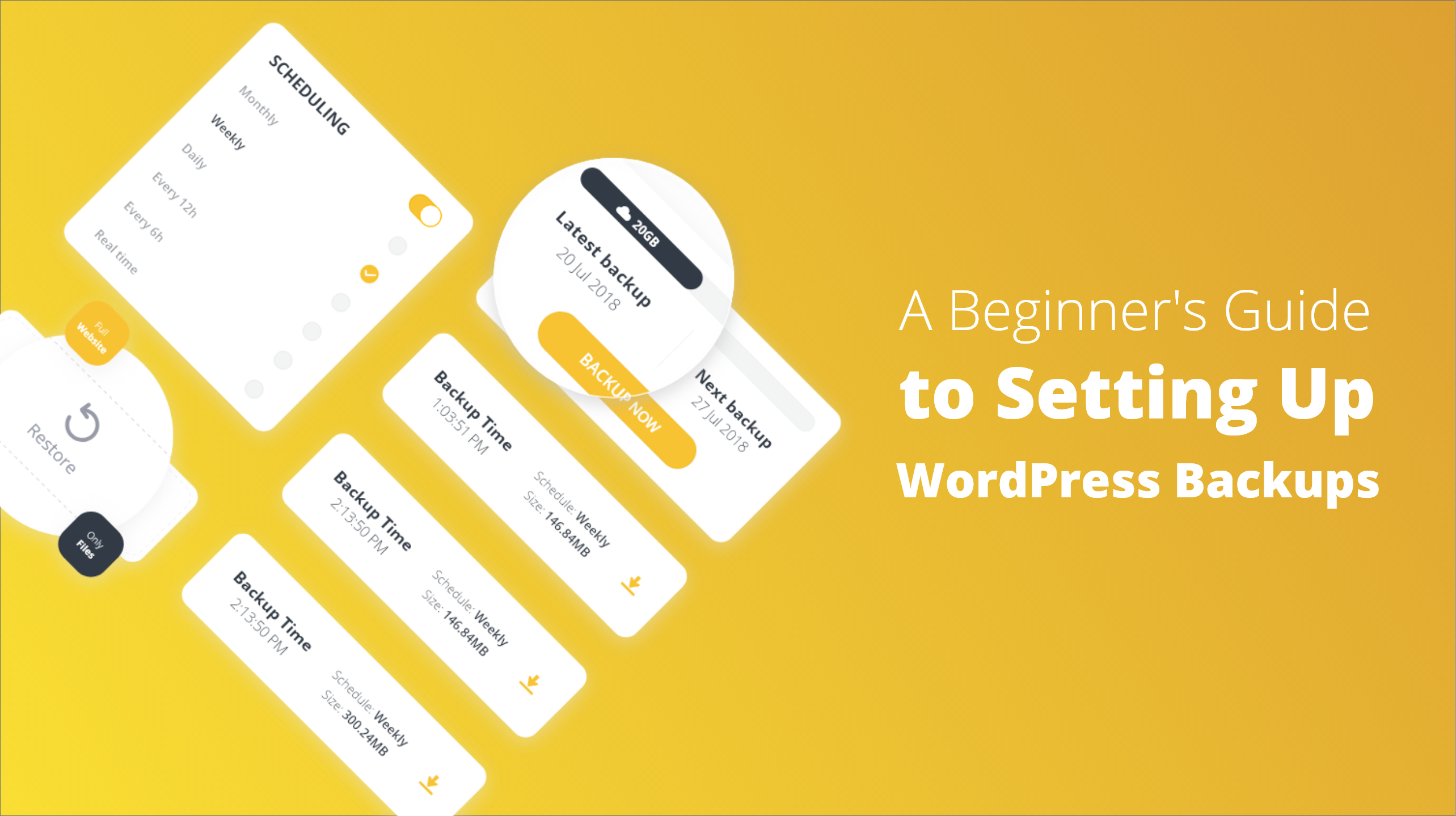 A Beginner's Guide to Setting Up WordPress Backups