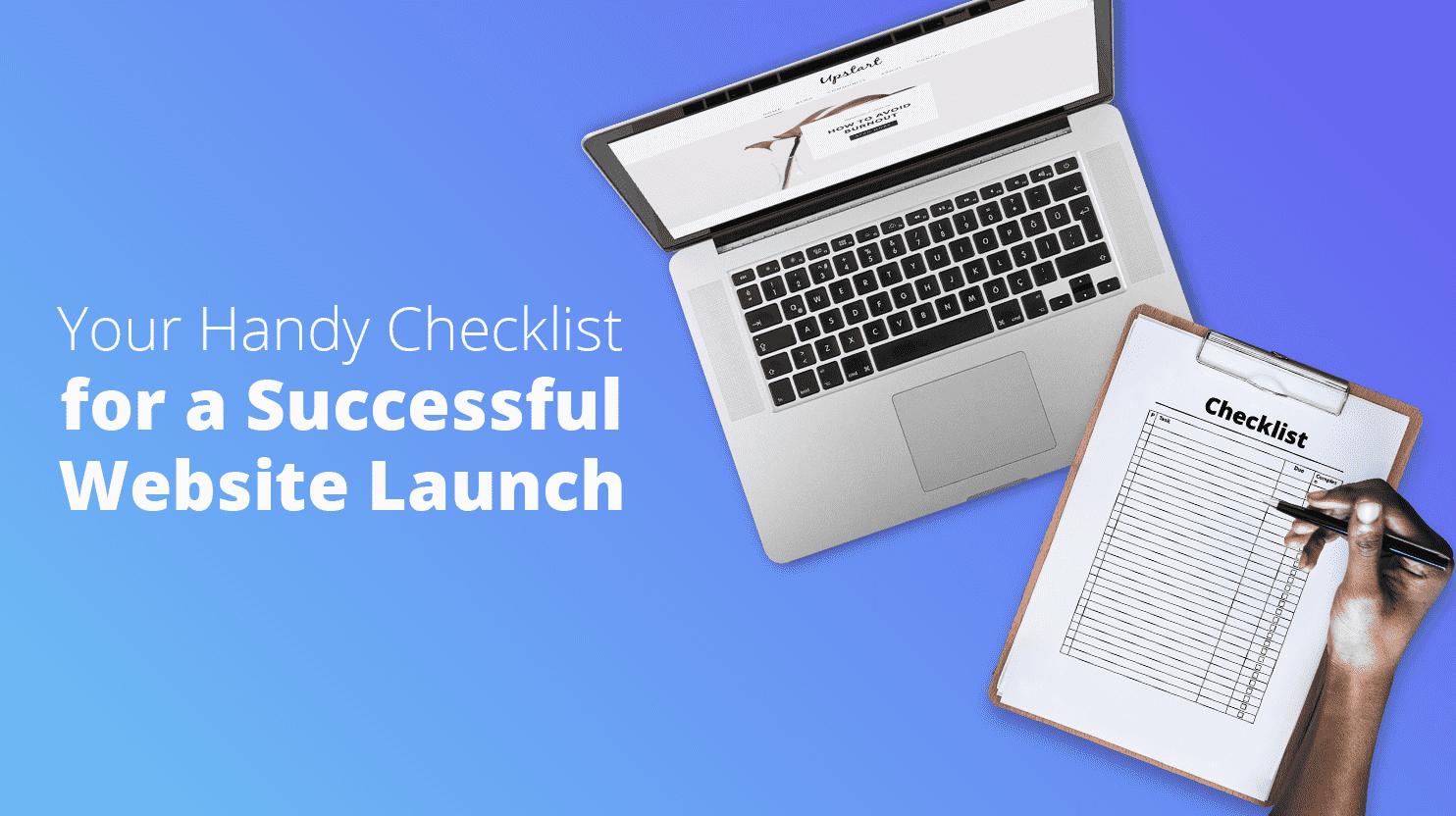 checklist-website-launch-banner