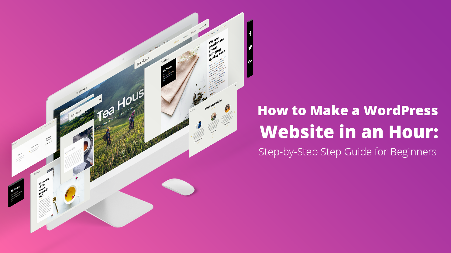 Creating wp website guide