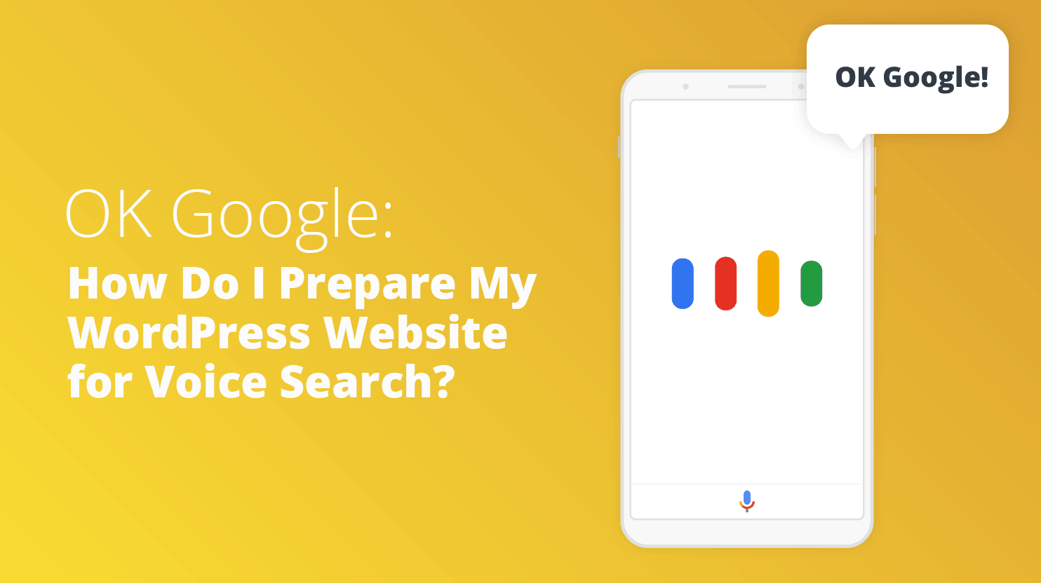 How to Prepare My WordPress Website for Voice Search