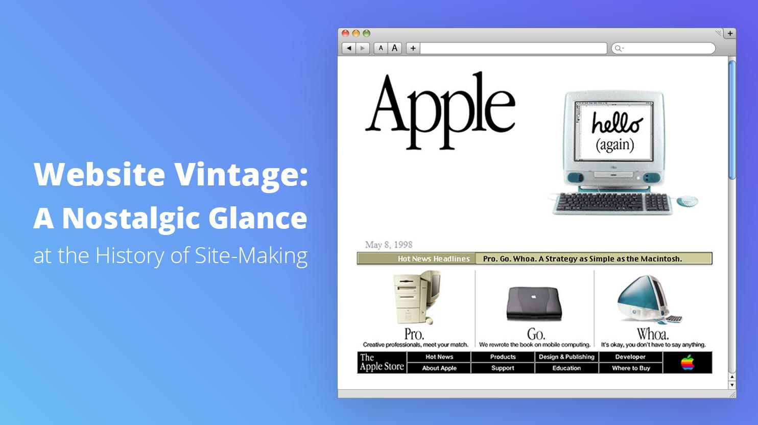 website vintage