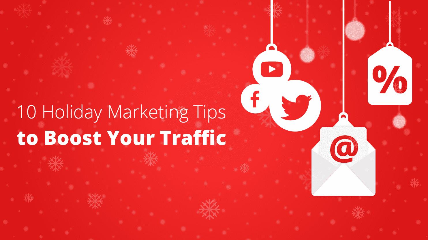 holiday marketing tips banner