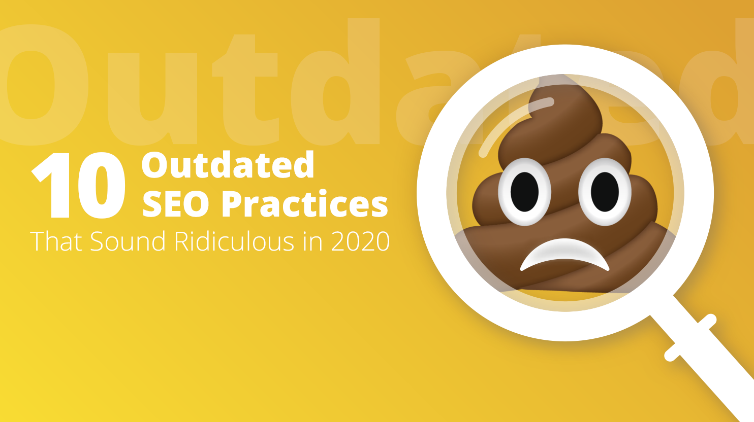 Outdated SEO practices