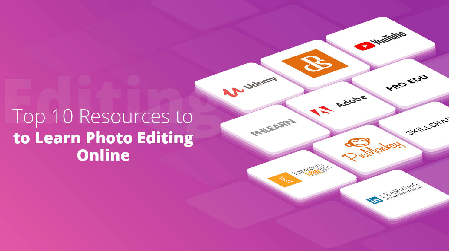 Learn Photo Editing Online - 10Web