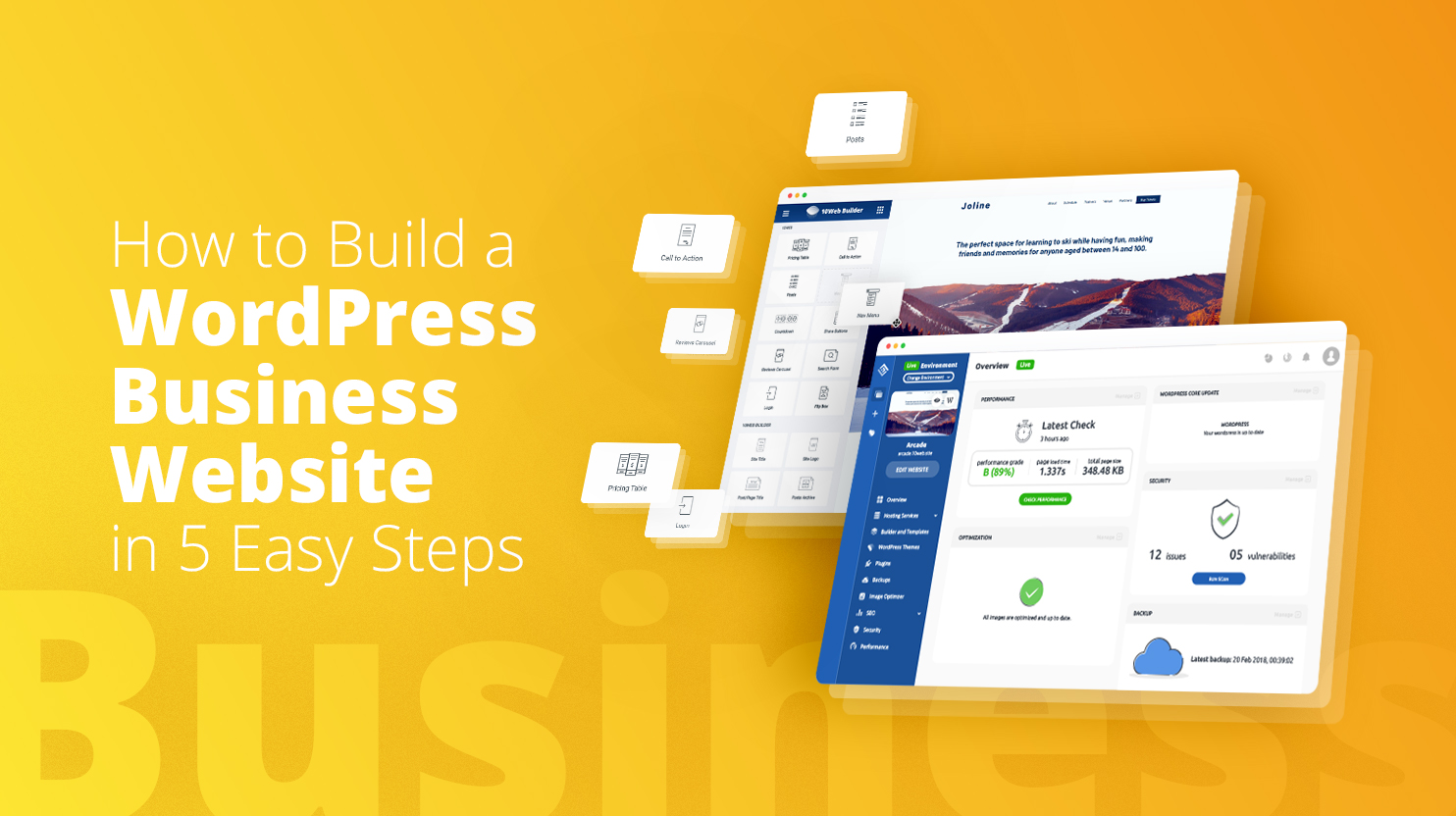 How to build a WordPress Business Website