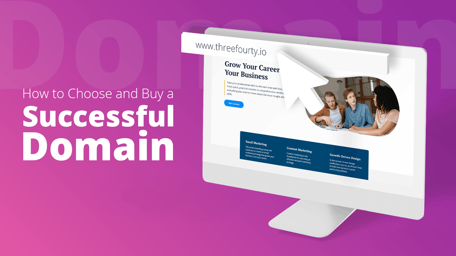 How to Choose and Buy a Successful Domain - 10Web