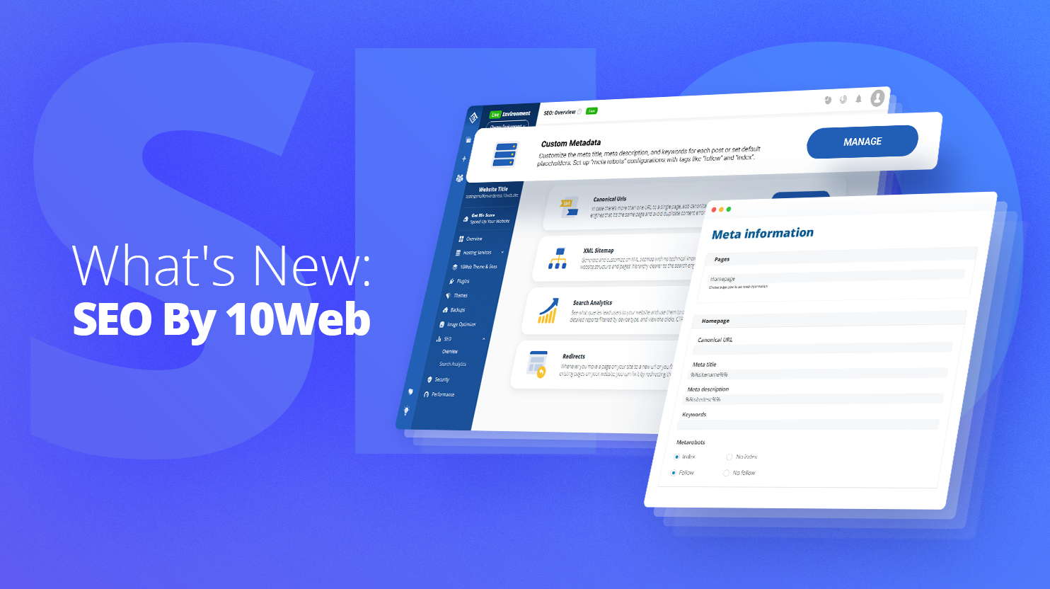 SEO by 10Web updated