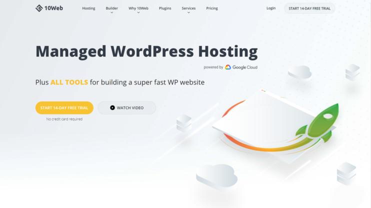 10web homepage