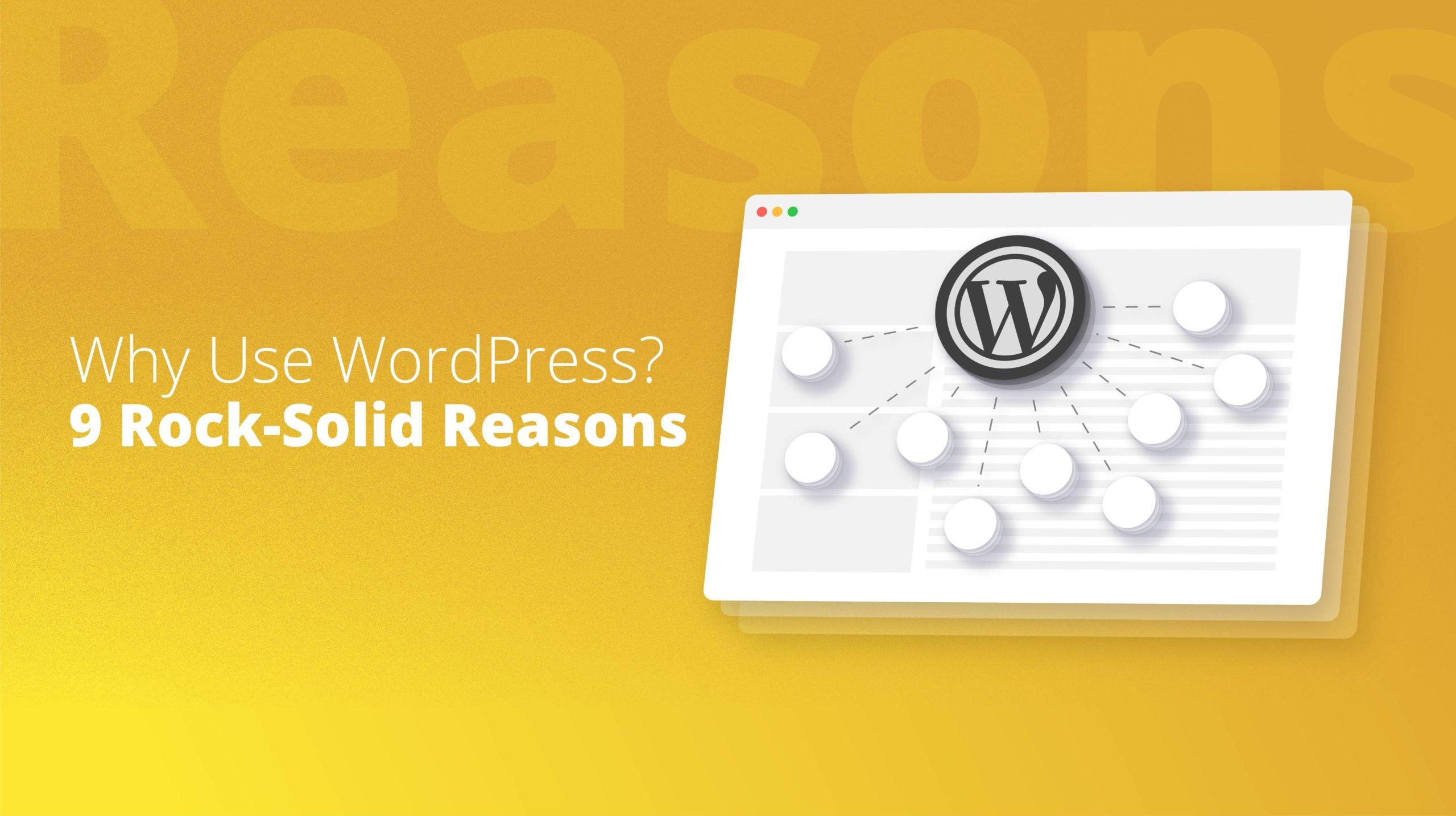 browser displaying the wordpress logo