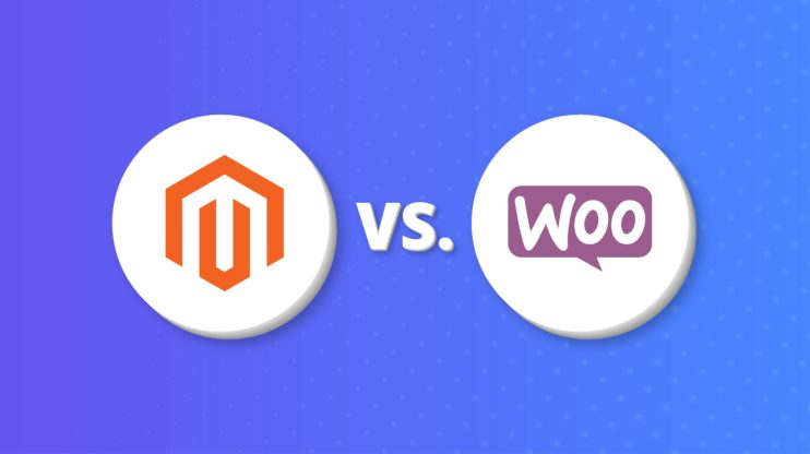 magento logo vs woocommerce logo