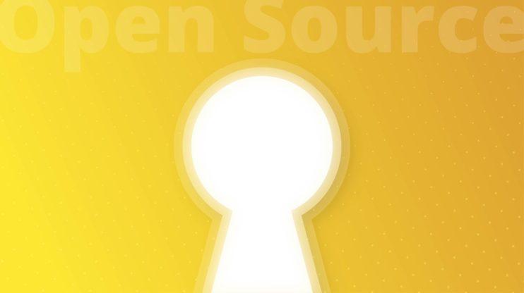 image of a keyhole