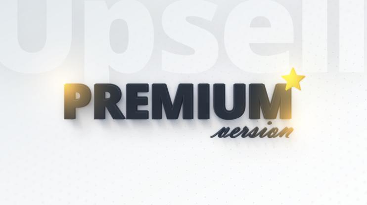 image that reads premium