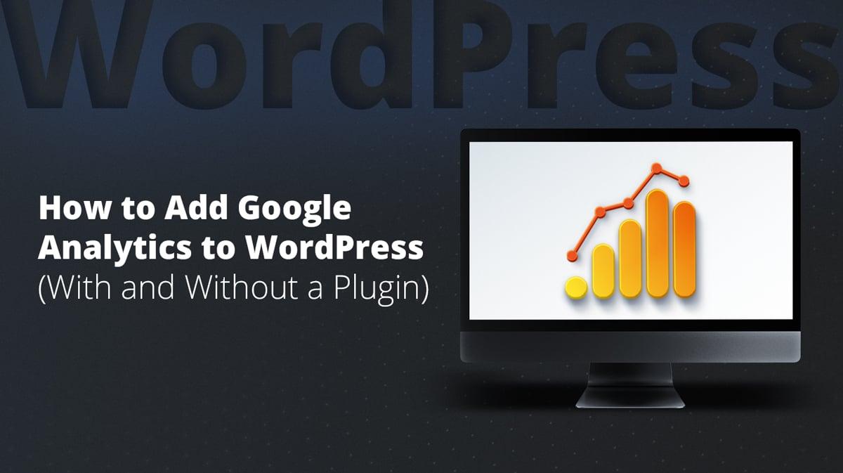 how to add Google Analytics 4 to your WordPress website