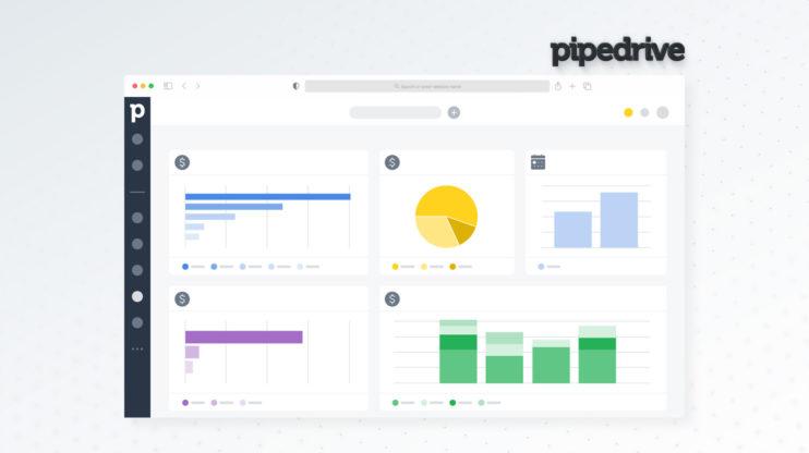 Pipedrive's dashboard