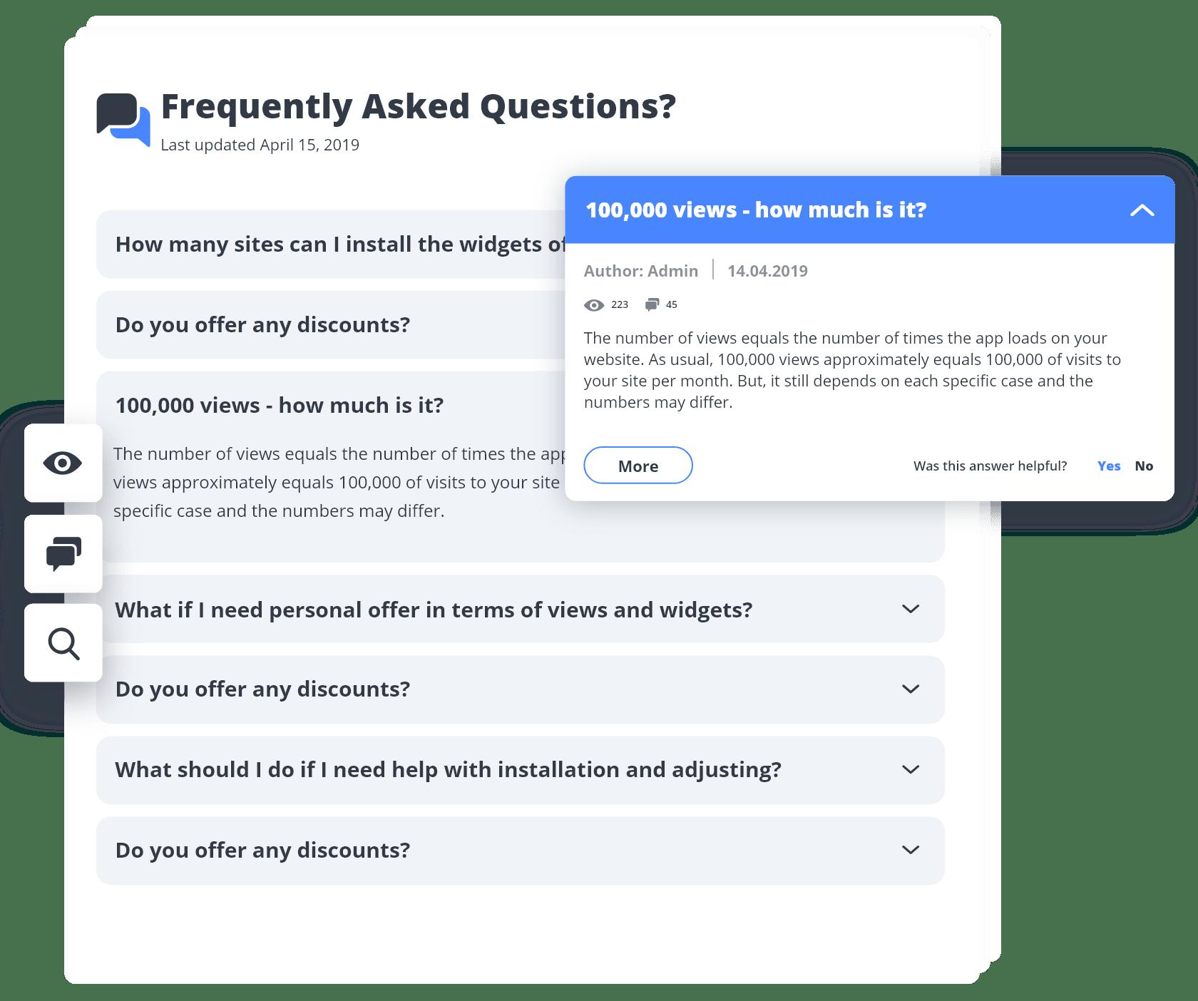 World's Leading WordPress FAQ Plugin