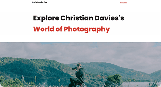 Photography & Portfolio