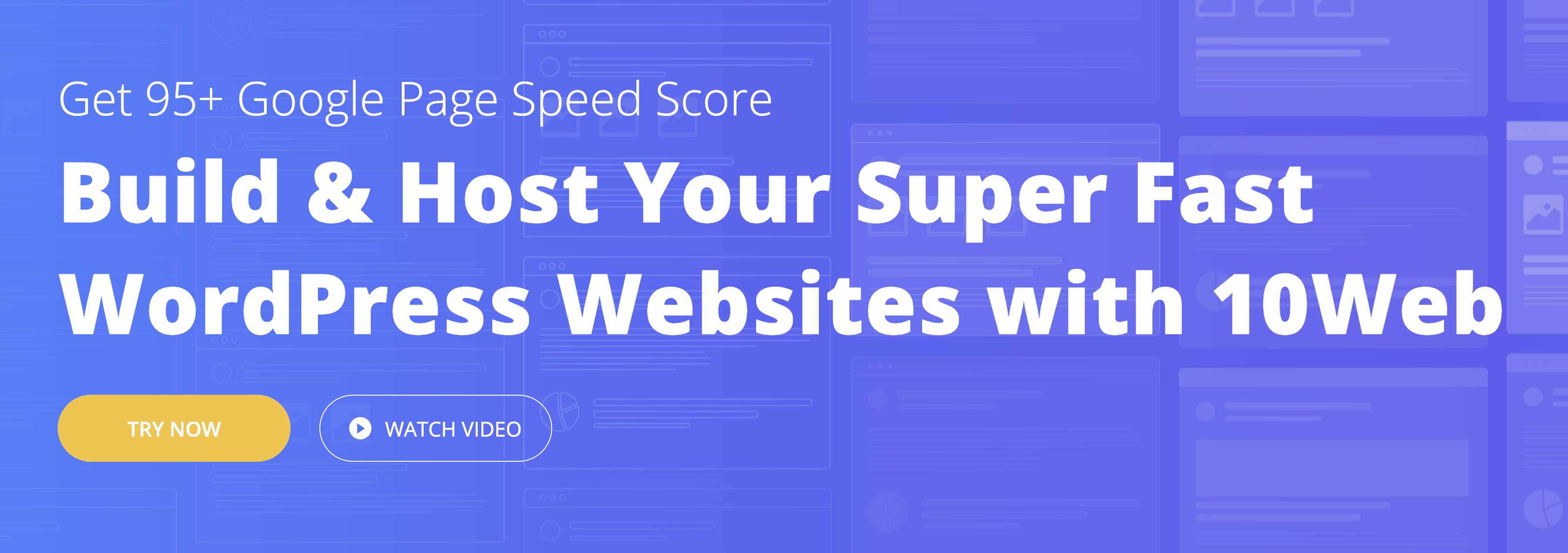 Build & Host Your Super Fast WordPress Websites with 10Web